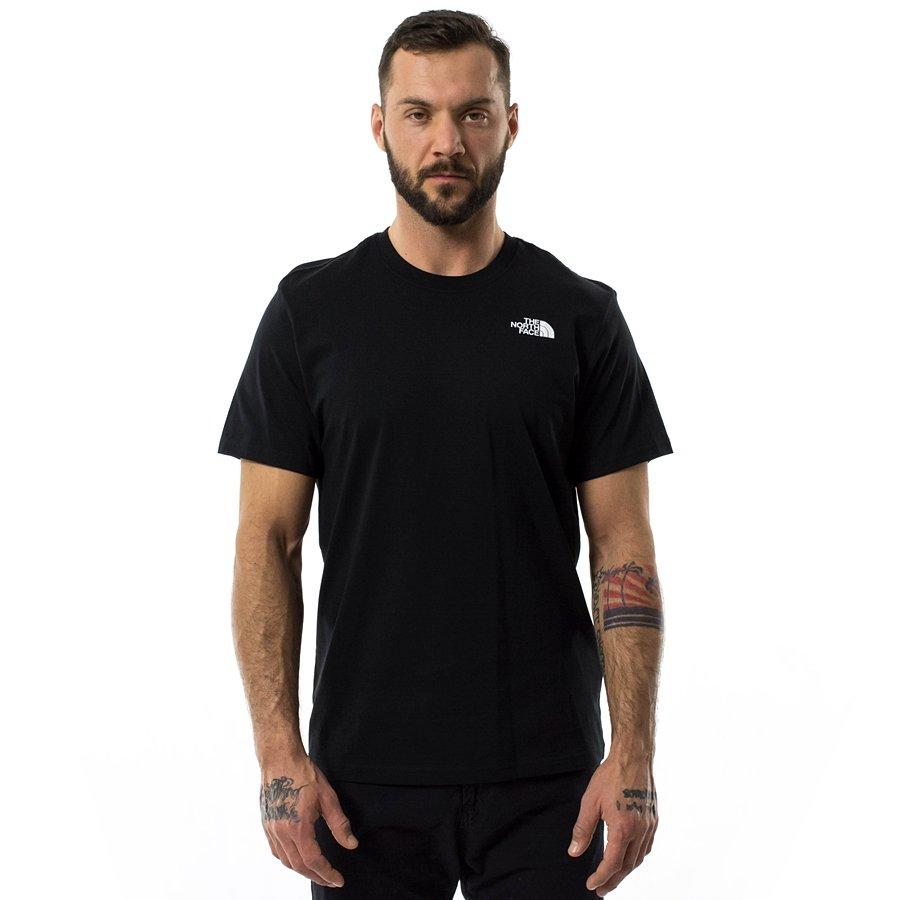 Koszulka męska The North Face T shirt Red Box Tee black (NF0A2TX2JK3)