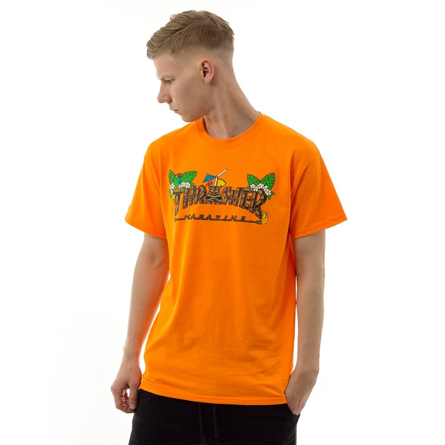 d774283b4 Koszulka męska Thrasher t-shirt Tiki orange Kliknij, aby powiększyć ...
