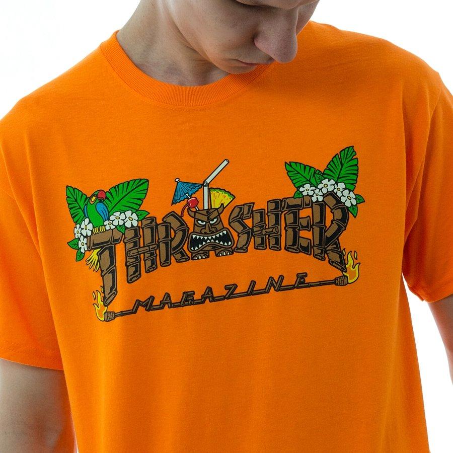 a680c2324 ... Koszulka męska Thrasher t-shirt Tiki orange Kliknij, aby powiększyć