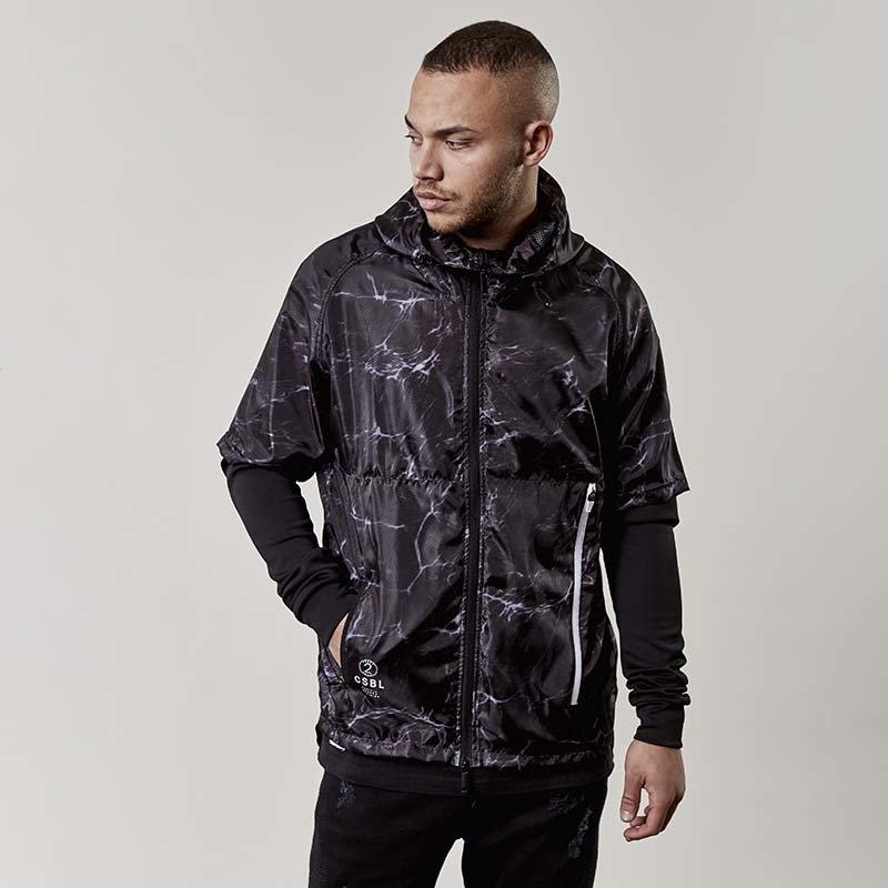 Kurtka Cayler and Sons BLACK LABEL jacket CSBL Coast To Coast Layer Windbreaker black
