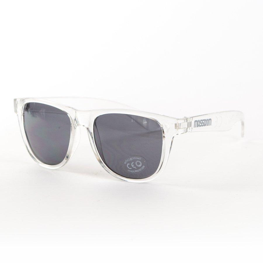 Okulary przeciwsłoneczne Mass Denim sunglasses John transparent white