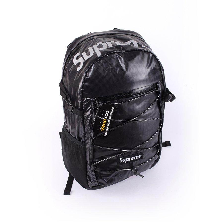 autentyczny szalona cena gładki Plecak Supreme backpack Box Logo black