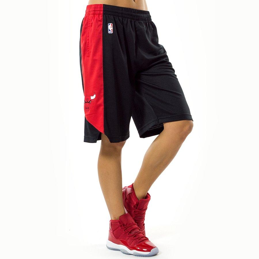 najlepsza strona internetowa najlepsza wyprzedaż ceny odprawy Spodenki damskie Nike shorts Chicago Bulls black (EZ2B7BAST-BUL)