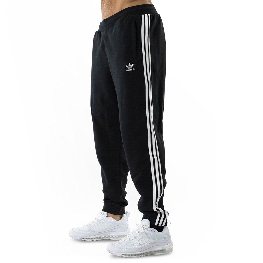 najnowszy sklep z wyprzedażami ceny odprawy Spodnie dresowe męskie Adidas Originals pants 3 - Stripes black (CW2981)