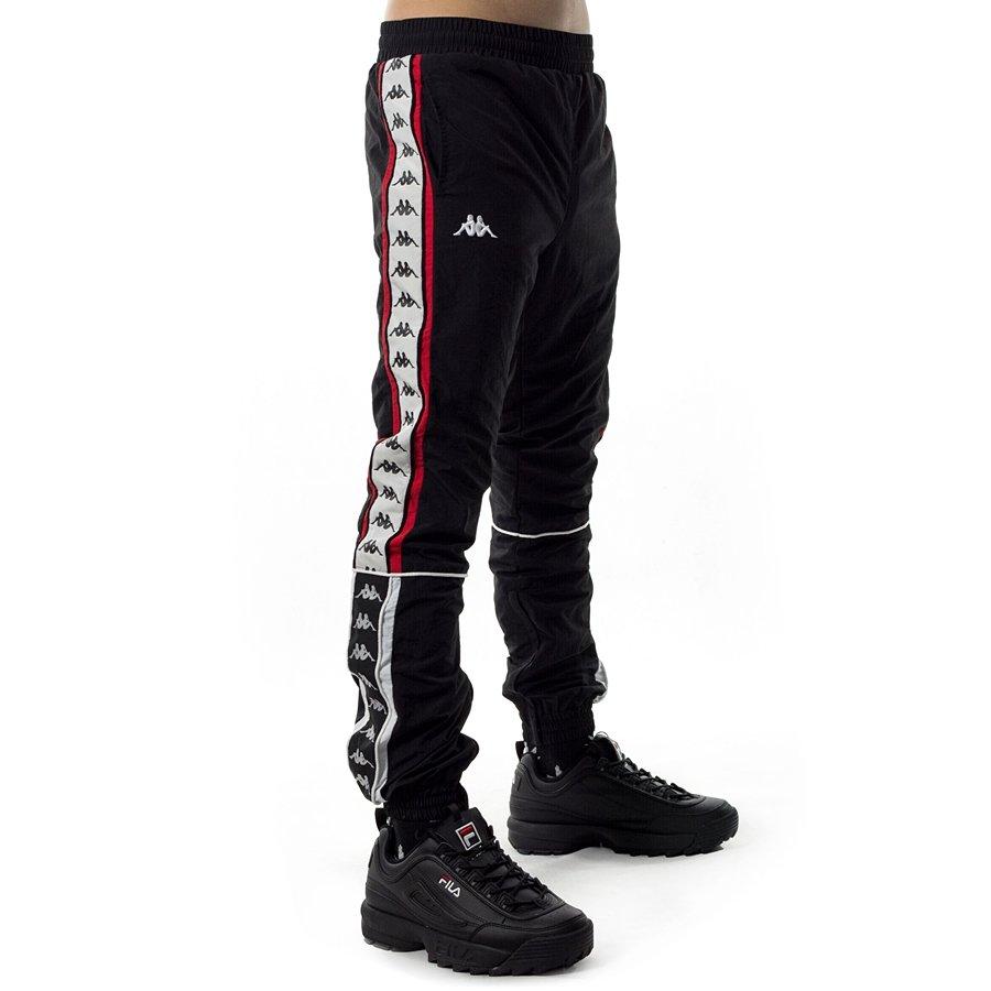 6e3a82a33 Spodnie dresowe męskie Kappa Erik Tracksuit Pants black Kliknij, aby  powiększyć ...