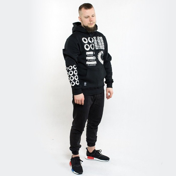 Bluza Mass Denim hoody Display black