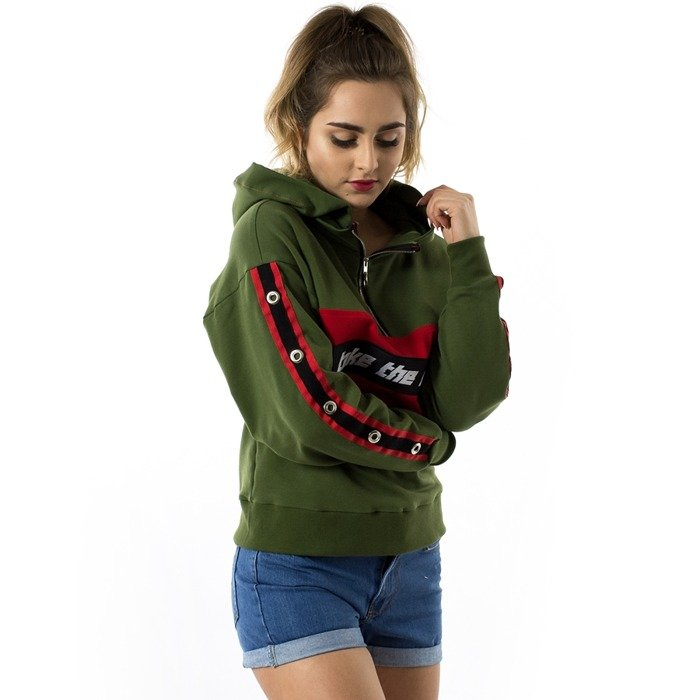 Bluza damska Marska hoody Take The Risk khaki