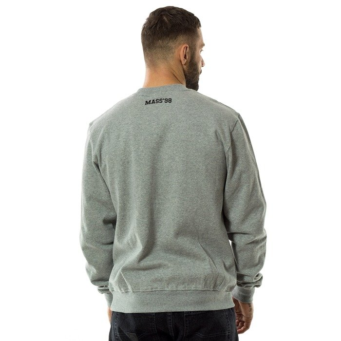 Bluza męska Mass Denim crewneck Campus grey heather