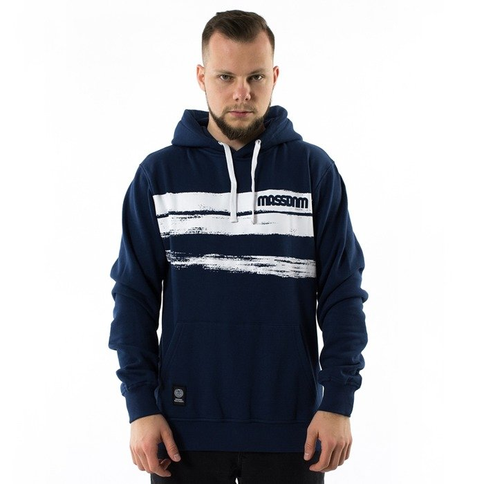 Bluza męska Mass Denim hoody Traces navy