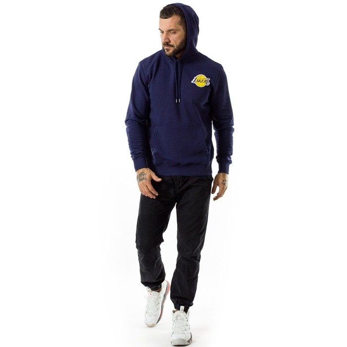 Bluza męska New Era hoody Coastal Heat Los Angeles Lakers navy