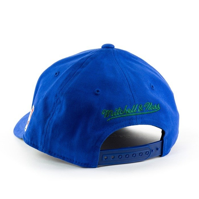 Czapka Mitchell and Ness snapback Flexfit 110 Low Pro Minnesota Timberwolves blue