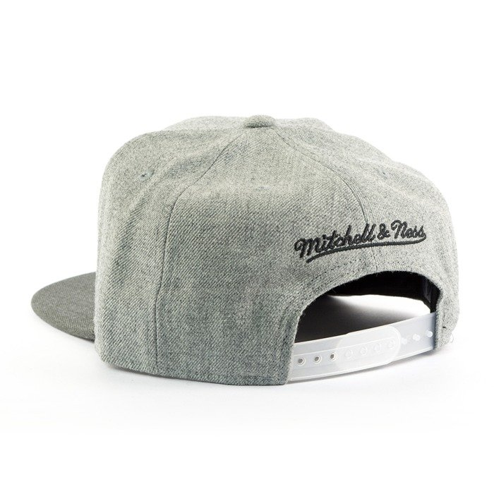 Czapka Mitchell and Ness snapback Heather Reflective Portland Trail Blazers grey / charcoal