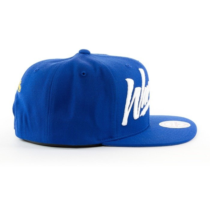 Czapka Mitchell and Ness snapback Vice Script Solid Golden State Warriors blue