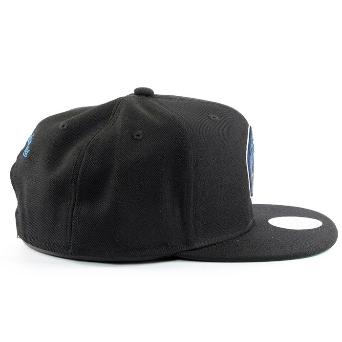 Czapka Mitchell and Ness snapback Wool Solid Minnesota Timberwolves black
