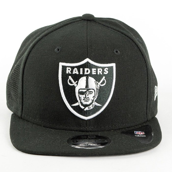 Czapka New Era snapback Oakland Raiders NFL Team Side Performance9fifty black
