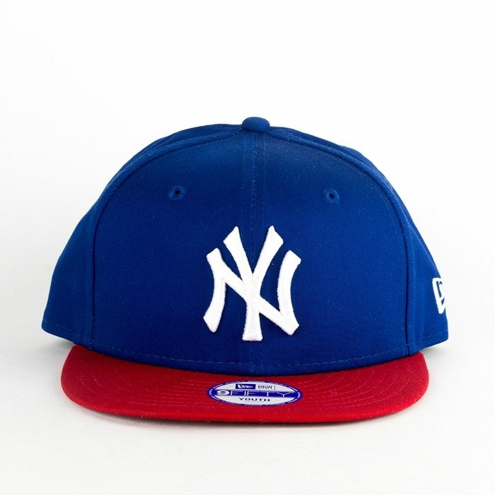 Czapka dziecięca New Era snapback New York Yankees Basic blue / red Youth 9FIFTY
