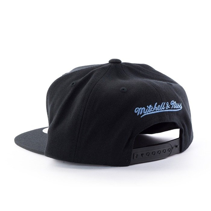 Czapka z daszkiem Mitchell and Ness snapback Easy Three Digital XL Denver Nuggets black