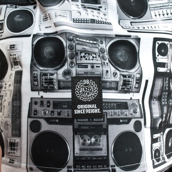 Koszulka Mass Denim t-shirt Ghettoblaster white