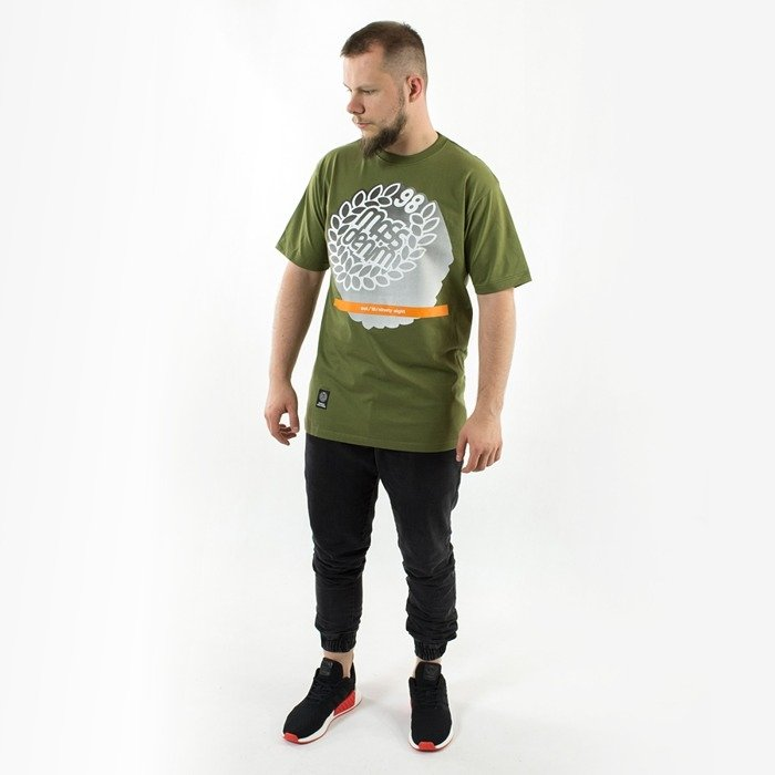 Koszulka Mass Denim t-shirt Impress green
