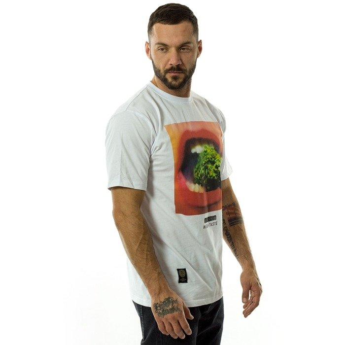 Koszulka męska Mass Denim t-shirt High Taste white