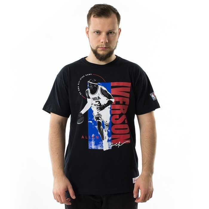 Koszulka męska Mitchell and Ness t-shirt All Star Photo Real Traditional Tee Allen Iverson black