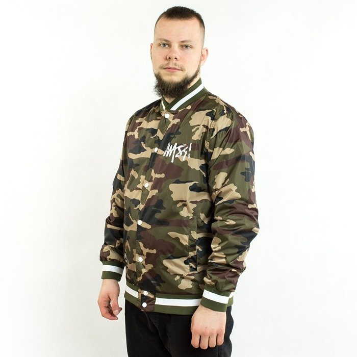 Kurtka Mass Denim jacket Signature Handmade woodland camo