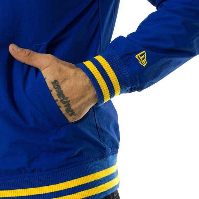 Kurtka męska New Era jacket NBA Team Pop Logo Varsity Golden State Warriors blue