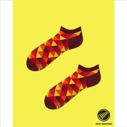 Skarpety Many Mornings socks Flame Triangles Low multicolor