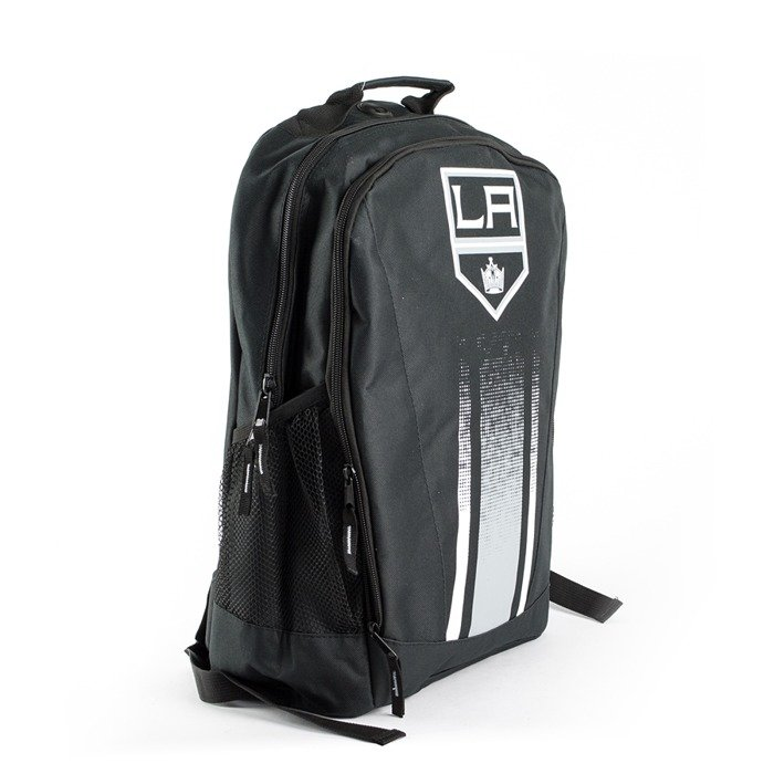 Plecak Forever Collectibles Backpack Stripe Primetime Los Angeles Kings black / grey