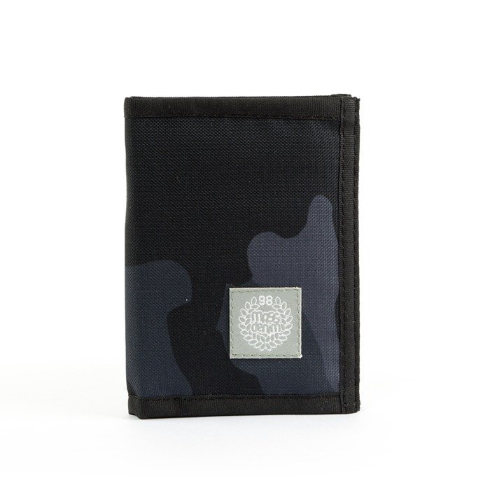 Portfel Mass Denim wallet Base black camo