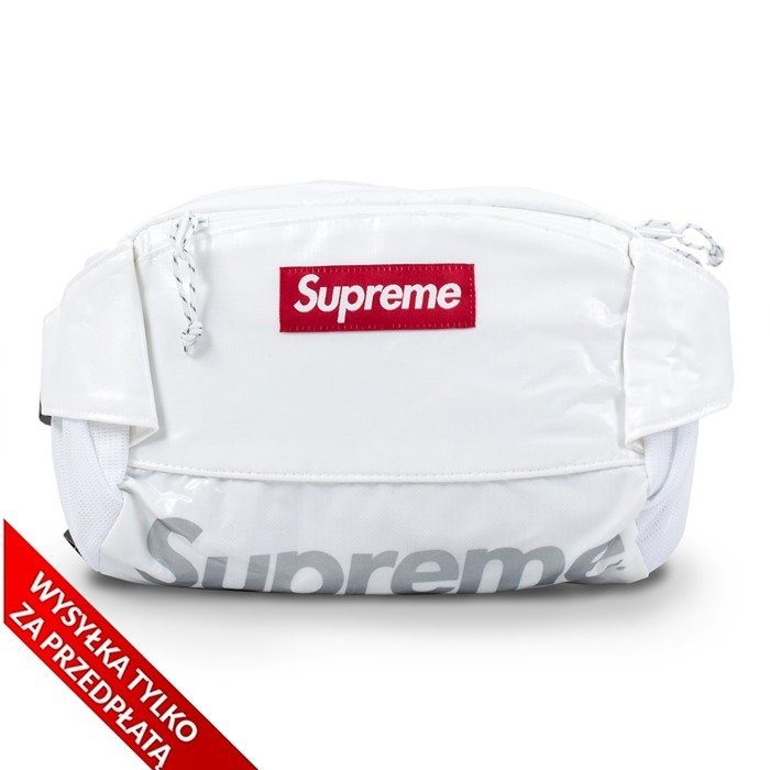 Saszetka Supreme hip bag Waist Bag white
