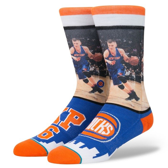 Skarpety Stance socks NBA Future Legends Porzingis blue