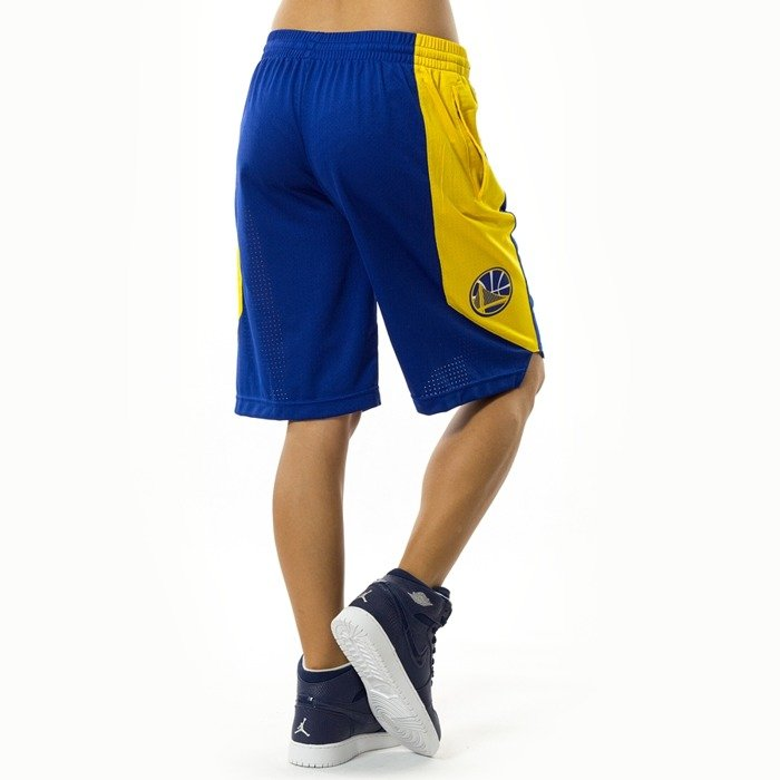 Spodenki damskie Nike shorts Golden State Warriors yellow (EZ2B7BAST-WAR)