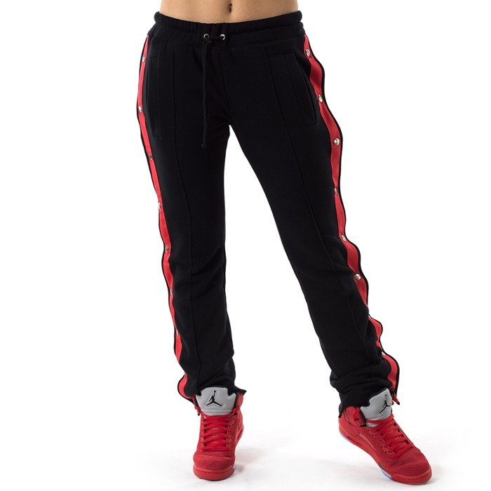 Spodnie dresowe Marska sweatpants Black and Red