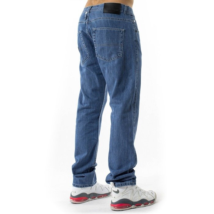 Spodnie męskie Mass Denim jeans Base Regular Fit light blue
