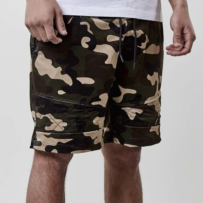 Szorty Cayler and Sons BLACK LABEL shorts CSBL New Age Velourshorts camo