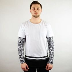 Two Angle koszulka longsleeve Mayon white